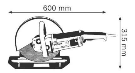 Сетевой штроборез Bosch GWS 24-300 J 601364800