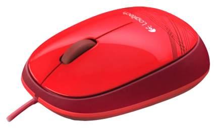 Проводная мышка Logitech M105 Red (910-003118)