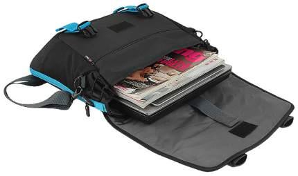 """Сумка для ноутбука 15.6"""" Crown CMCCH-3315BBU Black/Blue"""