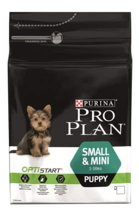 Сухой корм для щенков PRO PLAN OptiStart Small & Mini Puppy, для мелких пород, курица, 3кг