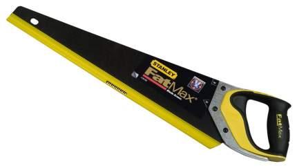 Ножовка по дереву Stanley FatMax 500мм 7tpi с покрытием 2-20-529