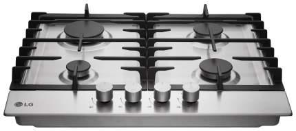 Встраиваемая варочная панель газовая LG HU641BAG Silver
