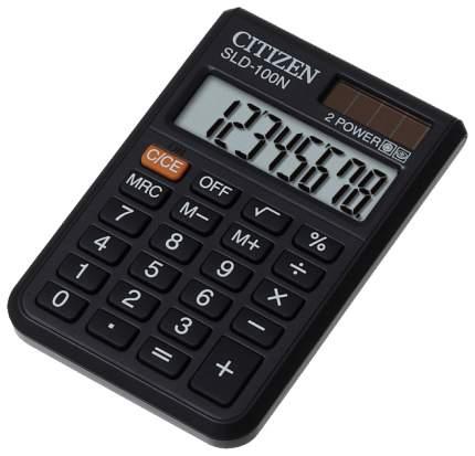 Калькулятор CiTiZEN SLD-100N Черный
