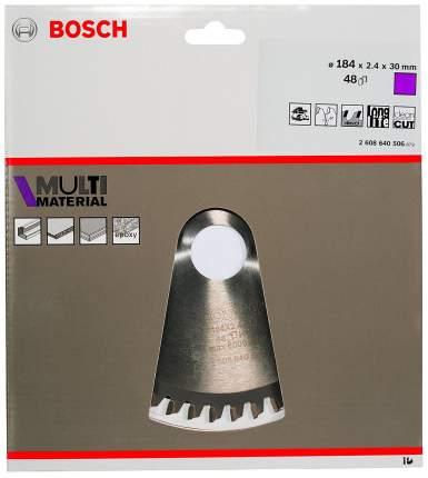 Диск по дереву Bosch STD MM 184x30-48T 2608640506