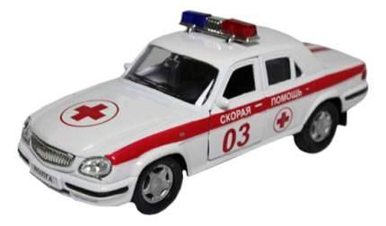 Коллекционная модель ГАЗ 31105 волга Скорая помощь Autotime 4066 1:43