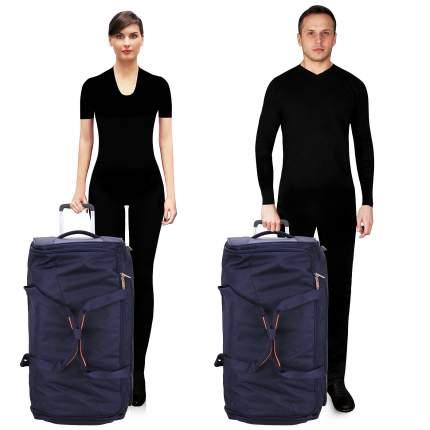 Дорожная сумка American Tourister 14G01005 синяя 34 x 39 x 75
