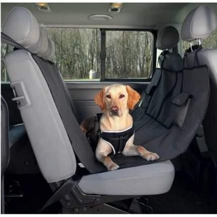 Автомобильная подстилка для собак TRIXIE 145x140x серый, черный