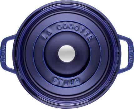 Staub Кокот круглый, 26 см (4.6 л), фиолетовый