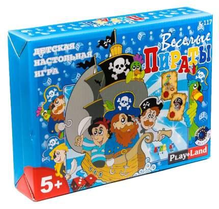 Семейная настольная игра Play Land Веселые пираты