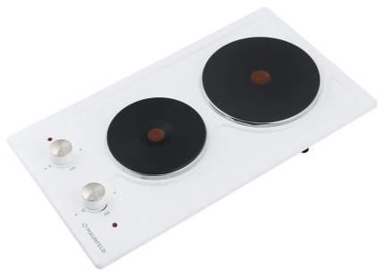 Встраиваемая варочная панель электрическая MAUNFELD EEHE.32.4W White