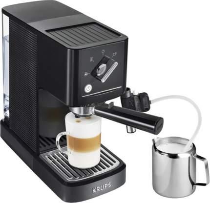 Рожковая кофеварка Krups XP345810 Black
