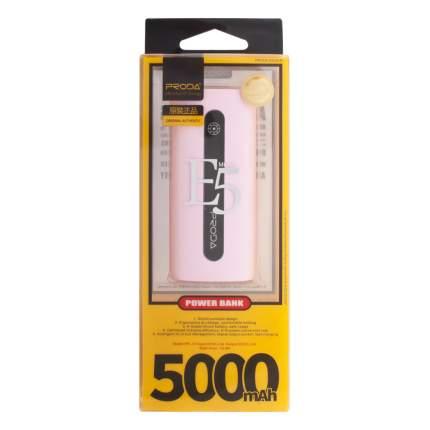Внешний аккумулятор Remax Proda E5 PPL-15 5000 мА/ч Pink