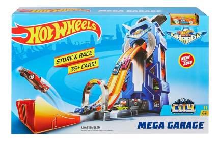 Гараж игрушечный Hot Wheels Сити МегаГараж