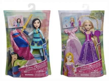 Кукла Disney Princess Делюкс Рапунцель, Мулан E1948Eu4