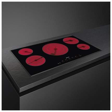 Встраиваемая варочная панель электрическая Smeg SE395ETB Black
