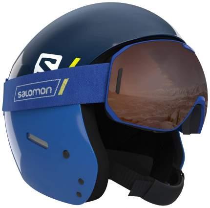 Горнолыжный шлем Salomon S Race 2019, синий, XS