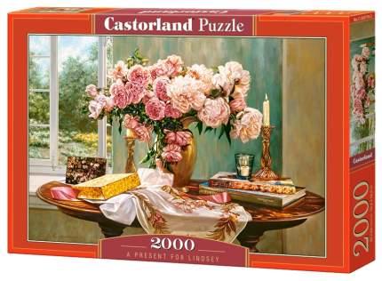 Пазлы Castorland Натюрморт Букет 2000 деталей С-200719