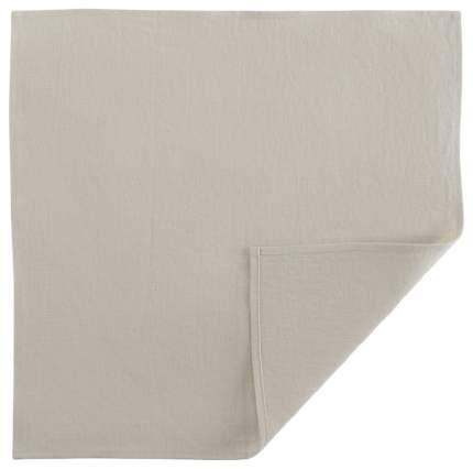 Сервировочная салфетка из умягченного льна бежевого цвета Essential 45х45