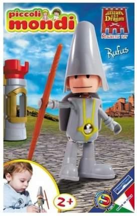 PLASTWOOD Магнитный конструктор Piccoli Mondi Wizard & Dragon, цвет: Rufus 0519