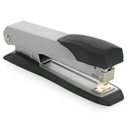 "степлер Brauberg ""Practix"", 24/6, 26/6, до 25 л, метал корпус, метал мех, серый с черн дет"