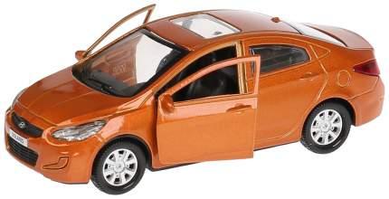 Машина металлическая Hyudai Solaris, 12 см, открываются двери Технопарк