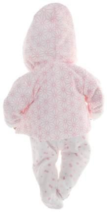 Пупс Arias Elegance в одежде розовых тонов с узором, 38 см, арт. Т16351