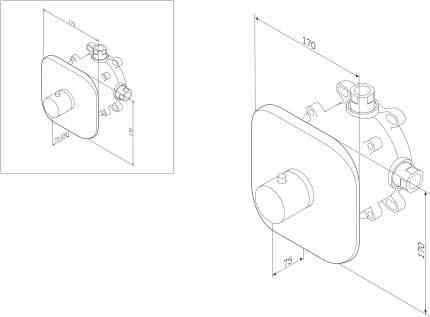 Термостат для смесителей AM.PM F3075500