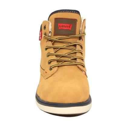 Ботинки Levi's Kids 56414 желтые, размер 34
