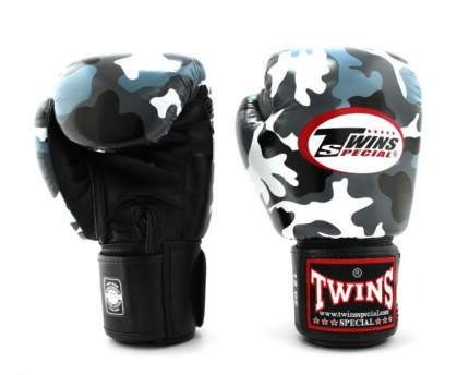Боксерские перчатки Twins Fancy Boxing Gloves FBGVL3-AR серые 14 унций