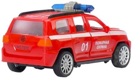 Машина инерционная «Пожарная охрана Круизёр», открываются двери Sima-Land