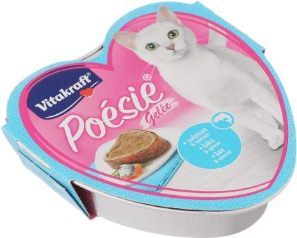 Консервы Vitakraft Poesie в желе для кошек (Промоупаковка 6 х 85 г, в желе)