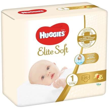 Подгузники для новорожденных Huggies Elite Soft 1 3-5кг 25шт