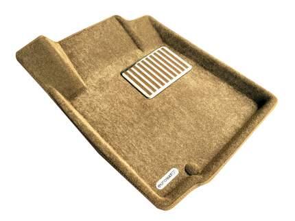 Комплект ковриков в салон автомобиля для Nissan Euromat Original Lux (em3d-003718t)