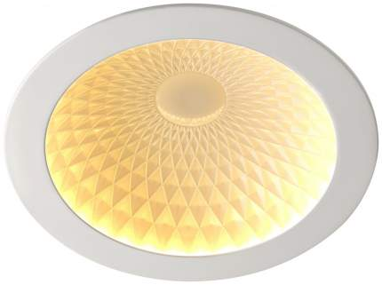 Встраиваемый светодиодный светильник Novotech Gesso NT18 000 357496 Белый