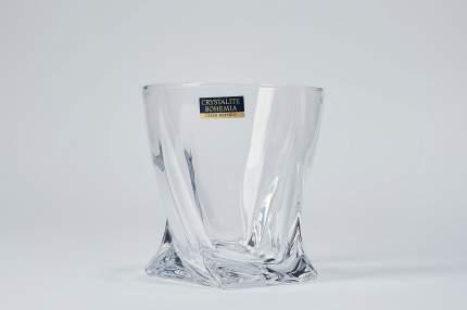 Набор стаканов для виски 340 мл Crystalite Bohemia Квадро