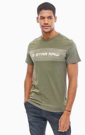 Футболка мужская G-Star Raw зеленая 52