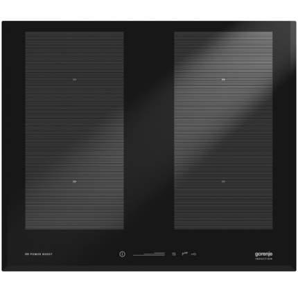 Встраиваемая варочная панель индукционная Gorenje IS656USC Black