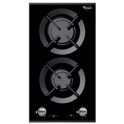 Встраиваемая варочная панель газовая Whirlpool AKT 352/IX Black