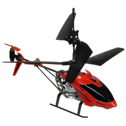 Вертолет на радиоуправлении снайпер с пистолетом красный