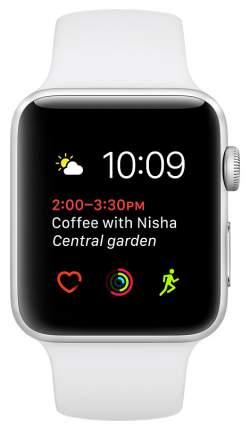 Смарт-часы Apple Watch Series 2 42mm Silver Al/White (MNPJ2RU/A)