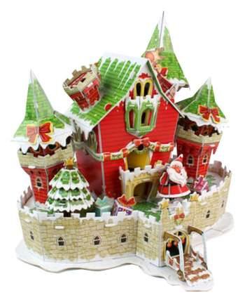 Пазл Cubic Fun 3D P646h Сказочный рождественский замок (с подсветкой)