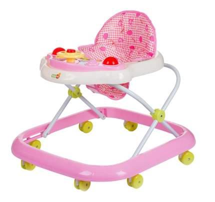 Ходунки детские babyhit action-pink