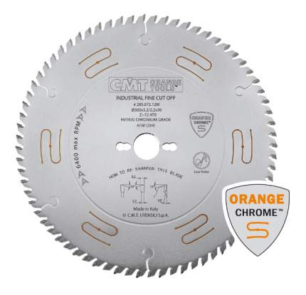 Пильный диск по дереву  CMT 285.684.14M