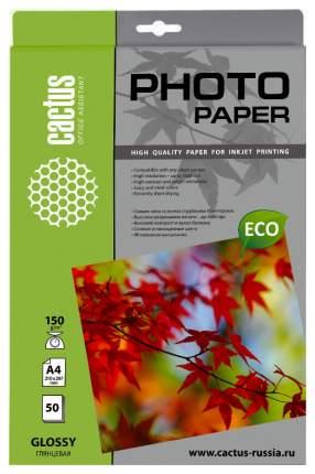 Фотобумага для принтера A4 Cactus Standart CS-GA415050 Белый 50 листов