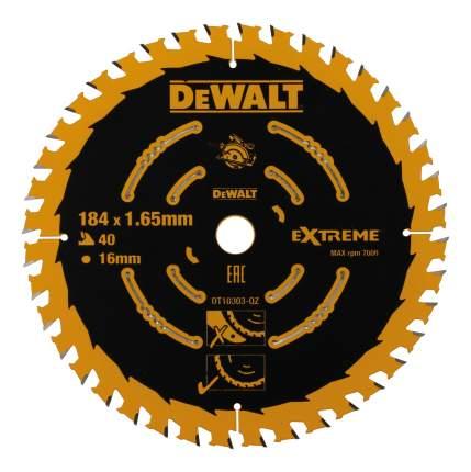 Диск по дереву для дисковых пил DeWALT DT10303-QZ