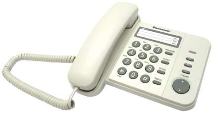 Проводной телефон Panasonic KX-TS2352RUW белый