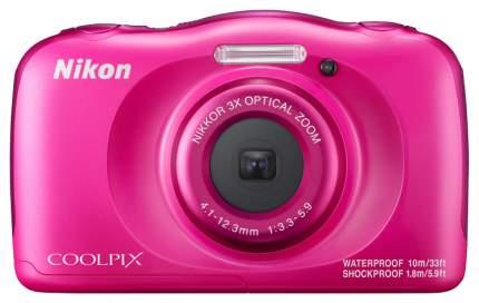 Фотоаппарат цифровой компактный Nikon Coolpix W100 Pink