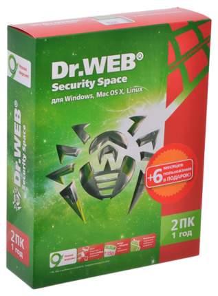 Антивирус Dr.Web для Windows/Mac/Linux BHW-A-12M-2-A3 на 2 устройства 12 мес. BOX