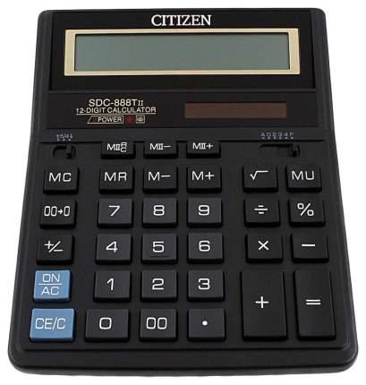 Калькулятор CiTiZEN SDC-888TII Черный