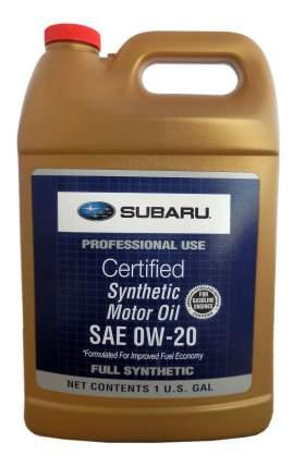 Моторное масло Subaru Synthetic 0W-20 3,780л